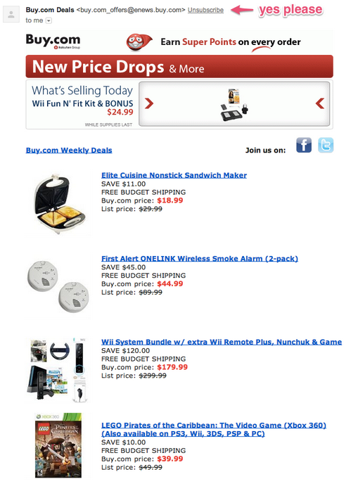 Buy.com email